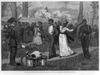 The American Centennial Festival Exhibition: Scene In Fairmount Park, Philadelphia--negro Militia After Drill Image
