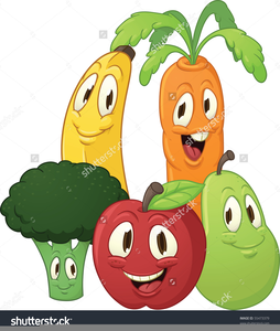 Clipart Images Of Fruits And Vegetables Image