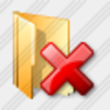 Icon Folder Delete Image
