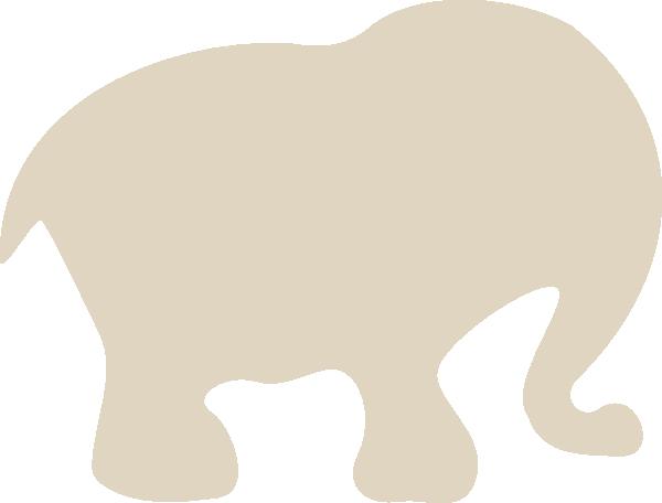 gray elephant free clip art - photo #34