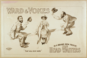 Ward & Vokes In A Brand New Frolic The Head Waiters Image