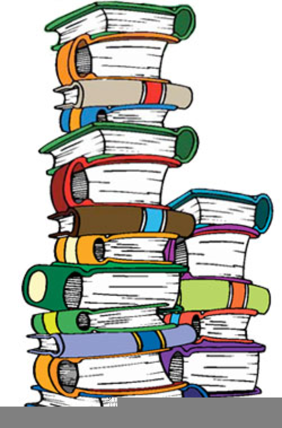 Pile Of Books Clipart | Free Images at Clker.com - vector clip art online, royalty free & public