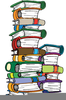 Pile Of Books Clipart Image