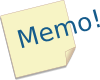 Post-it Memo Clip Art