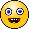 Smiley Face 4 Clip Art