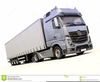 Clipart Of Trucks And Trailers Image