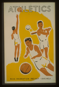 Athletics--wpa Recreation Project, Dist. No. 2  / Beard. Image