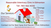 Reasonable Veterinary Clinic Edmonton Image