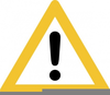 Warning Sign Clipart Free Image
