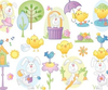 Easter Cartoon Vector Clipart Image
