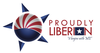 Proudly Liberian Final W Bg Vector Image