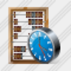 Icon Abacus Clock Image