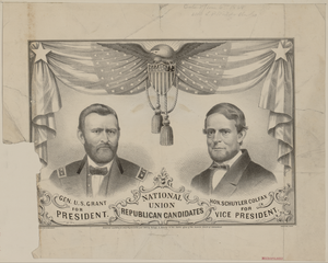National Union Republican Candidates  / Lith. Of Kellogg & Bulkeley, Hartford, Conn. Image