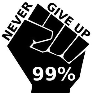 Occupy Never Give Up Image