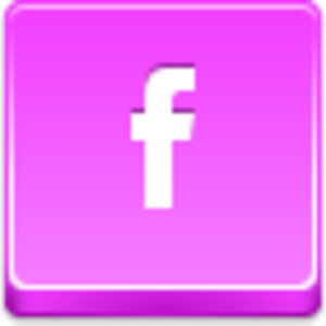 Free Pink Button Facebook Small Image