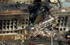 Aerial View Of Pentagon Destruction Image