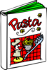 Pasta Cookbook Clip Art