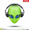 Alien Head Outline Image