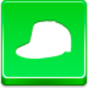 Free Green Button Cap Image
