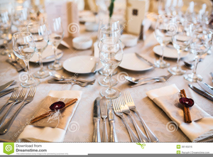 Clipart Table Setting Image