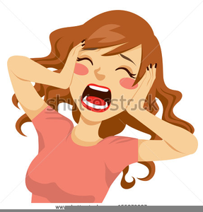 Screaming Cartoon Image
