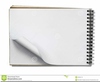 Clipart Open Book Blank Pages Image