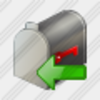 Icon Mail Box Import Image
