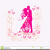 Free Fancy Wedding Clipart Image