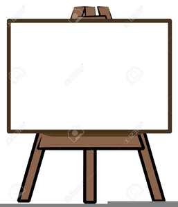 free art easel clipart free images at clker com vector clip art rh clker com art easel clipart free