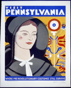 Visit Pennsylvania Where Pre-revolutionary Costumes Still Survive / Katherine Milhous. Image