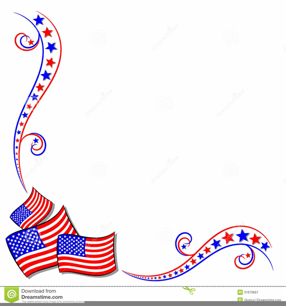 Free Clipart Border American Flags Free Images At Clker Com Vector Clip Art Online Royalty Free Public Domain