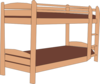 Bunk Bed Clip Art