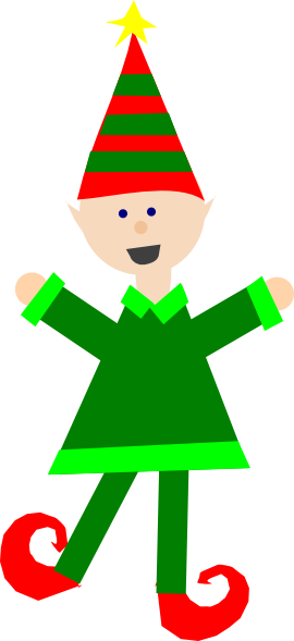 christmas elf clip art at clker com vector clip art online rh clker com christmas elves images clip art female christmas elves clipart