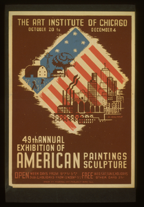 49th Annual Exhibition Of American Paintings Sculpture  / M. Waltrip. Image