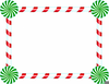 Candy Cane Lane Clipart Image