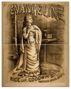 Evangeline Rice And Goodwin S American Opera Bouffe. Image