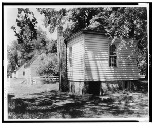 [residence, Cabin, On James River, Tuckahoe Plantation, Goochland County, Virginia] Image