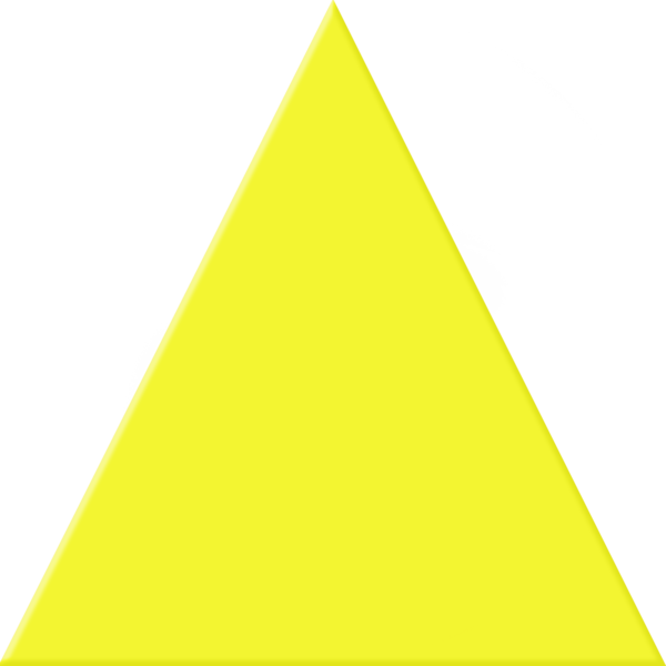 yellow triangle free images at clkercom vector clip