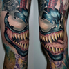 Venom Spider Tattoo Image