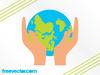 Clipart Of Hands Holding The Earth Image
