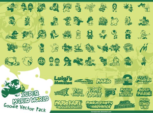 Mario Vector Pack Image