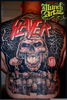 Slayer Back Tattoo Image