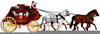 Clipart Coach And Horses Image