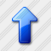 Icon Arrow Up Blue 5 Image