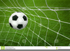 Soccer Ball And Net Clipart Image