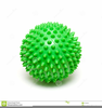 Spiked Ball Clipart Image