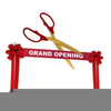 Clipart Grand Opening Image