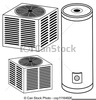 Heating And Cooling Clipart Image