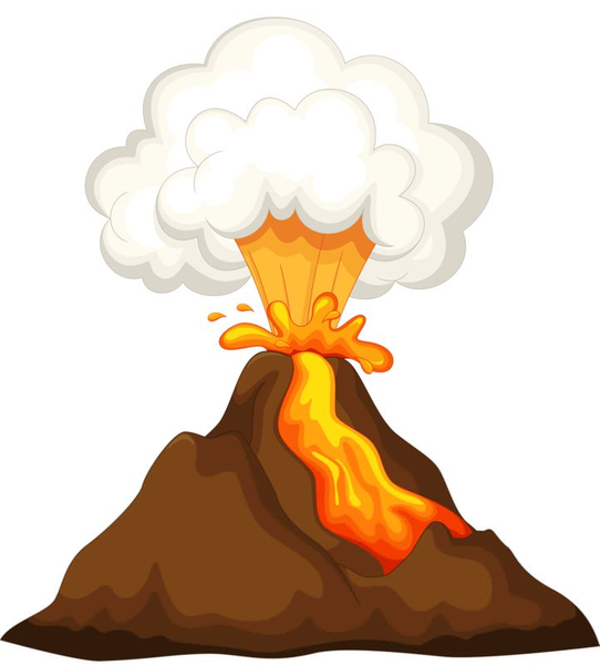 volcano erupting clipart free images at clker com vector clip rh clker com volcano clipart free clipart volcano pictures