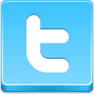 Free Blue Button Icons Twitter Image